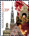 Postzegel Leiden