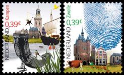 Kampen en Zwolle