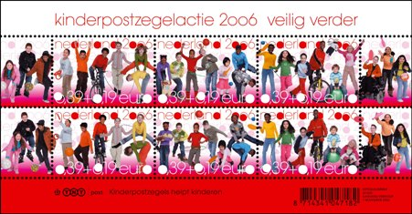 Velletje Kinderzegels 2006