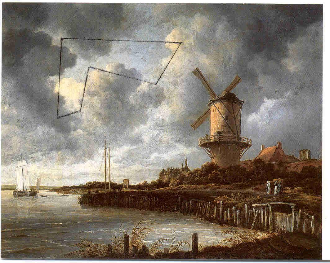 De molen bij Wijk bij Duurstede