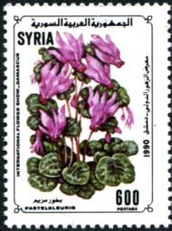 postzegel pastelkleurig