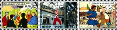 belgische stripzegels