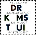 braillepostzegel-150p