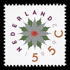 NVPH 1542 - Decemberzegel 1992