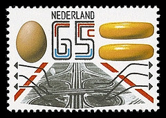 nvph-1231-kaas-ei-postzegel