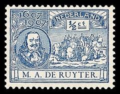 nvph-87-de-ruyter-zegels-1907