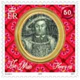 henryviii-postzegel-isle-of-man-2009-2
