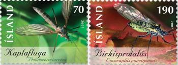 mug-en-berkenbladluis-ijsland-2007-postzegels