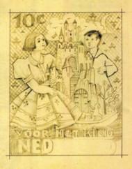 levigne-7-nieuwjaar-voorontwerp-kinderpostzegels