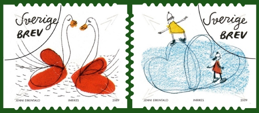 liefde2_postzegel_zweden_2009