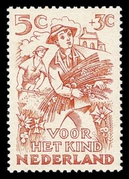 NVPH 545 - Kinderzegel 1949 - zomer