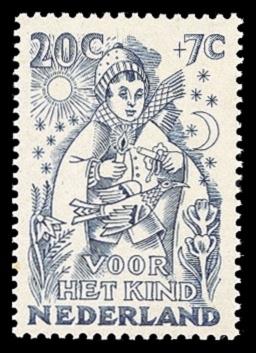 NVPH 548 - Kinderzegel 1949 - nieuwjaar