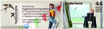 tnt-jubileumzegel-vogelbescherming-2009-postzegel