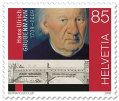 ulrich-grubenmann-zwitserland_postzegel