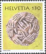 zwitserland-erni-2009-postzegel