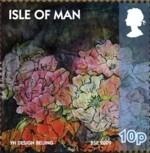 eiland_man_pioenroos_2009_postzegel
