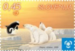global-warming-slovenie-2009-postzegel