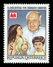 oostenrijk_postzegel_kinderdorpen_hermann_gmeiner