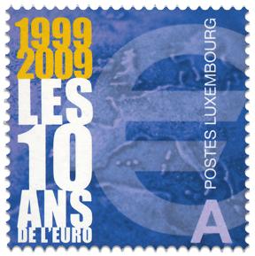 10years_euro_poststamp_luxembourg_2009