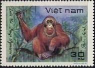 12-postzegel-orang-oetan-vietnam-1981