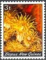 16-postzegel-koraal-papoea-nieuw-guinea-1982