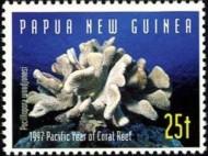 8-postzegel-koraal-papoea-niieuw-guinea-1997