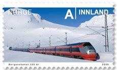 bergen_trein_noorwegen_postzegel2