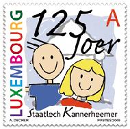 kannerheemer_children_luxembourg_postzegel