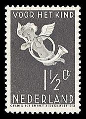 NVPH 289 - Kinderzegel 1936