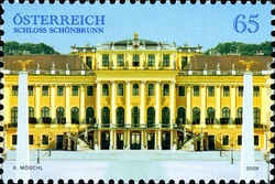 stamp_austria_imperial_palace_schonbrunn_2009