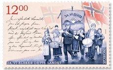 volkslied_noorwegen_postzegel