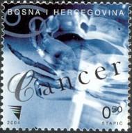 2-postzegel-kreeft-bosnie-herzegovina-2004