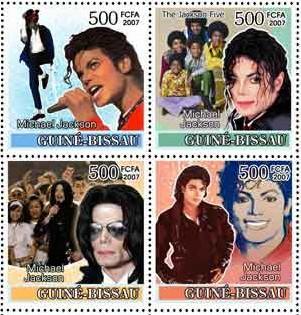 5 Michael Jackson Guinea Bissau 2007