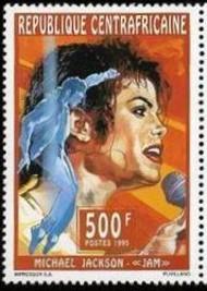 6 Michael Jackson Cetrafricane 1995