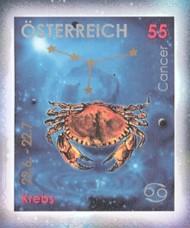 6-postzegel-kreeft-oostenrijk-2005