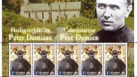 Pater-damiaan-postzegelvel