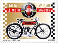 motorfiets-italie-postzegel
