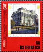 Christo-postzegel