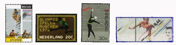 atletiekpostzegels