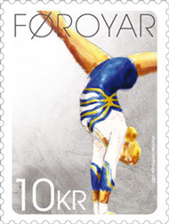faroer-gymnastics2-stamp