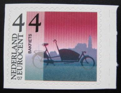 bakfiets-postzegel