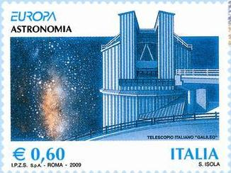 italy-astronomy-2009-stamp