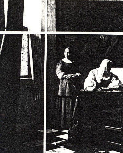 schematekening-briefschrijvende-vrouw