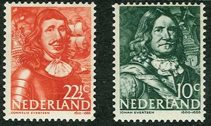 zeehelden-postzegels