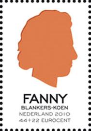 fanny-blankers-koen-postzegel