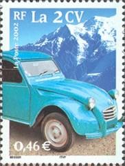 Citroën deux chevaux - 2cv - lelijke eend - Frankrijk 2002
