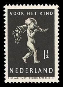 NVPH 327 - Kinderzegel 1939