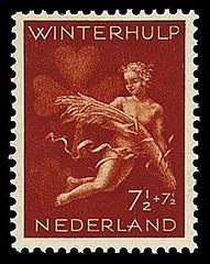 NVPH 426 Winterhulp-Volksdienstzegel