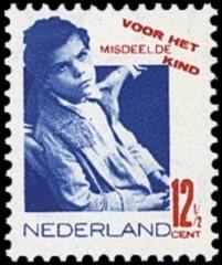 Kinderzegels [12,5 ct]  Nederland 1931