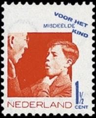Kinderzegels [1,5 ct]  Nederland 1931